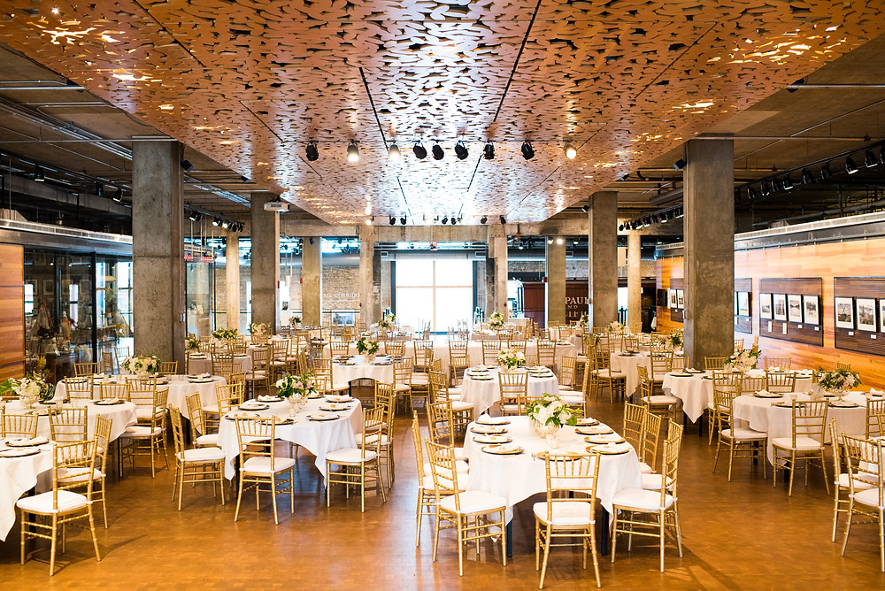 Mil City Museum Minneapolis wedding reception