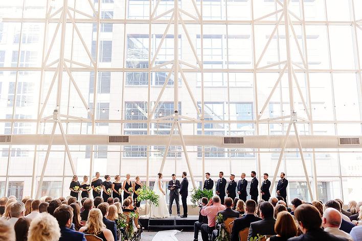 Doubletree Hotel St. Paul Minnesota Wedding Ceremony