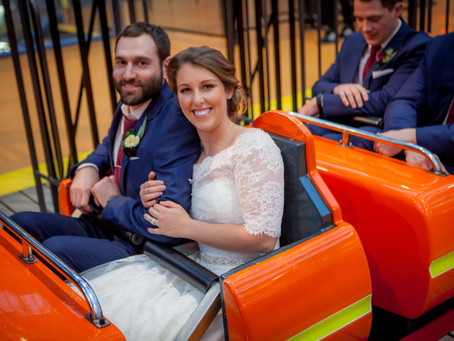 A Rollercoaster Wedding at Mall of America!