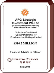 20080900 APG Strategic Investment Pte. L