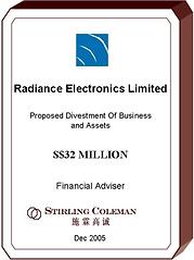 20051200 Radiance Electronics Limited_EN