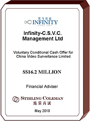 20100500 Infinity - C.S.V.C. Management