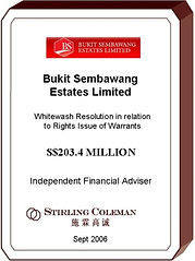20060900 Bukit Sembawang Estates Limited