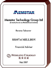 20070900 Memstar Technology Group Ltd_EN