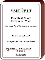 20121000 First Real Estate Investment Tr