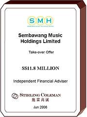 20060600 Sembawang Music Holdings Limite