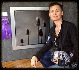 award winning milk thistle image with fine art photographer dorian hill