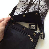 messenger art bag tree