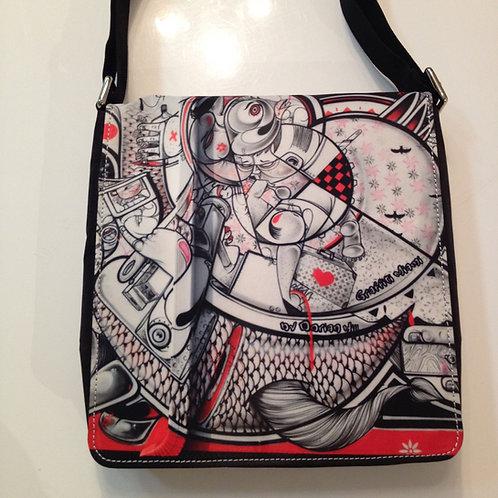 Deco Drive Miami Graffiti Messenger Bag