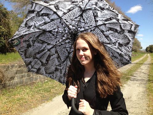 Large Cape Fear Trash Funbrella Umbrella