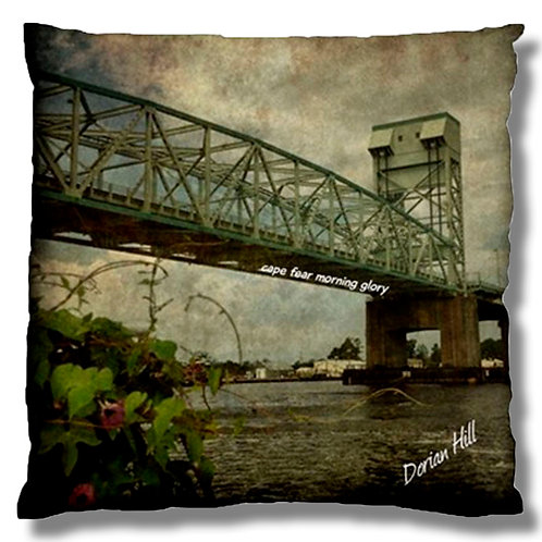 Cape Fear Morning Glory Cushion Case