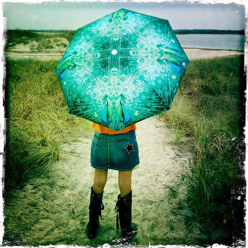 Proud Peacock Funbrella Umbrella