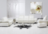 modern room with orchid print by fine art photographer Dorian Hill