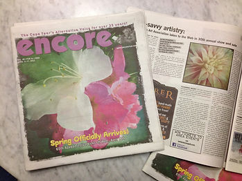 encore magazine article with images by dorian hill