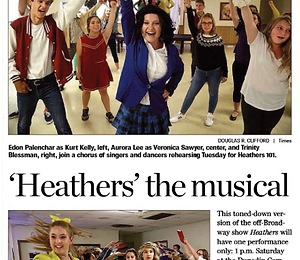 Heathers 101 in Tampa Bay Times