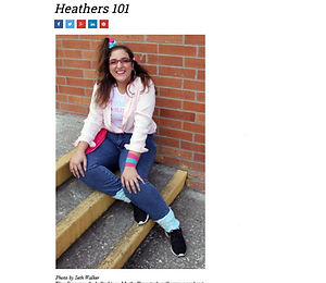Heathers 101 in Creative Loafing
