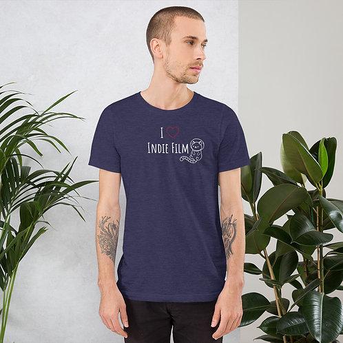 """I Love Indie Film"" Unisex T-Shirt"