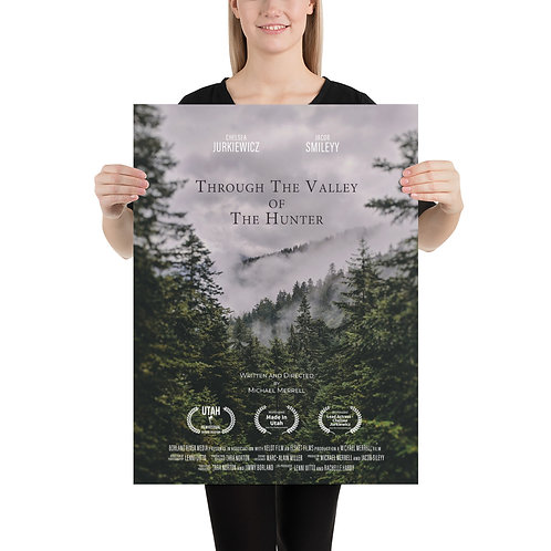 Through The Valley of The Hunter - Festival Poster
