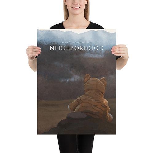 Neighborhood Art Poster