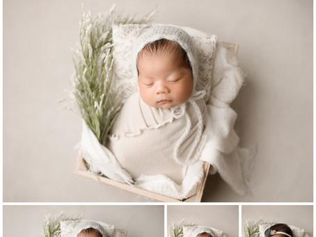 New Orleans, Louisiana-Newborn Photographer-Baby Kamila