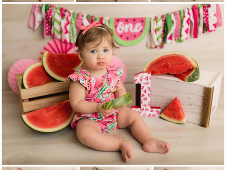 New Orleans, Louisiana- Child Photographer-Sadie turns ONE-Grow With Me
