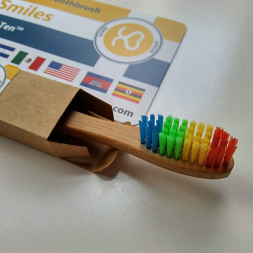 1 AU NATUREL™ Toothbrush - 10 Toothbrushes Donated, 1 Tree Planted