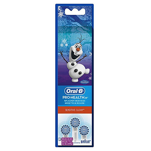 Kids Oral-B Power Toothbrush Replacement Heads (Disney's Frozen), 4 Count