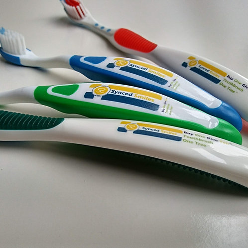 2 CLASSIC™ 2 TOTS™  Toothbrushes - 40 Toothbrushes Donated and 4 Tree