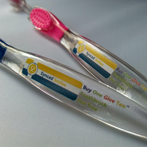 2 TWEEN™ Preteen Toothbrushes - 20 Toothbrushes Donated and 2 Trees Planted