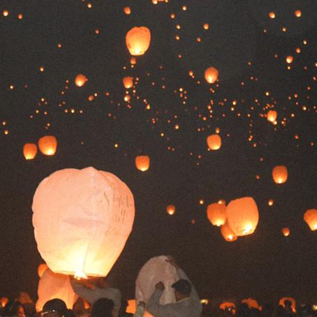 Night Lights Lantern Festival - beautiful details // Episode 161