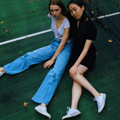 Anna & Coco | A Fall Photoshoot