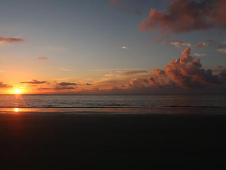 Sunrise Beach Vlog (Hunting Island State Park, SC) // Episode 103