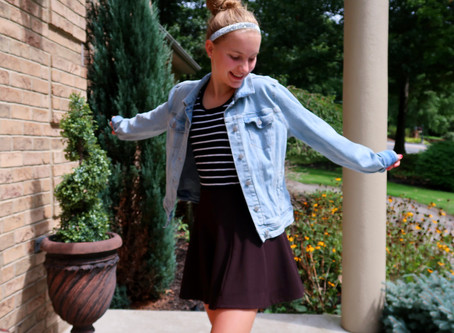Easy Back To School Outfit Ideas // Episode 55