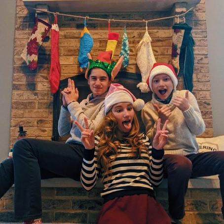 Santa & Elf & Reindeer Christmas Morning Run!! (year #3) // Episode 124