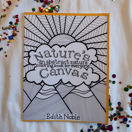 I Published a Coloring Book! *Nature's Canvas Release* // Episode 88