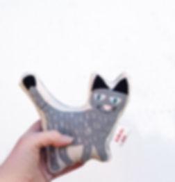 Baby Rattle Toy - Sofie Cat