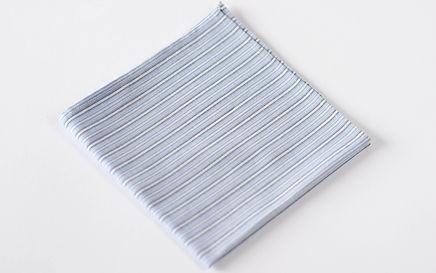 White Pocket Square Handkerchief