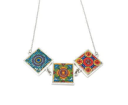 Three Tile Pendant