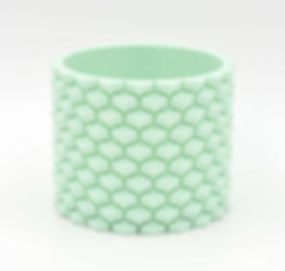 Large Mint 3D printed Planter