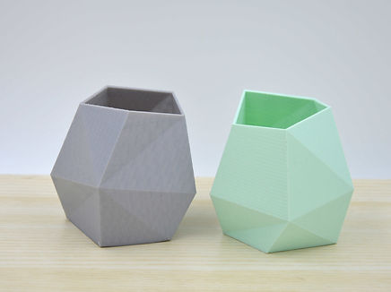 3D printed organizer or planter, set of two