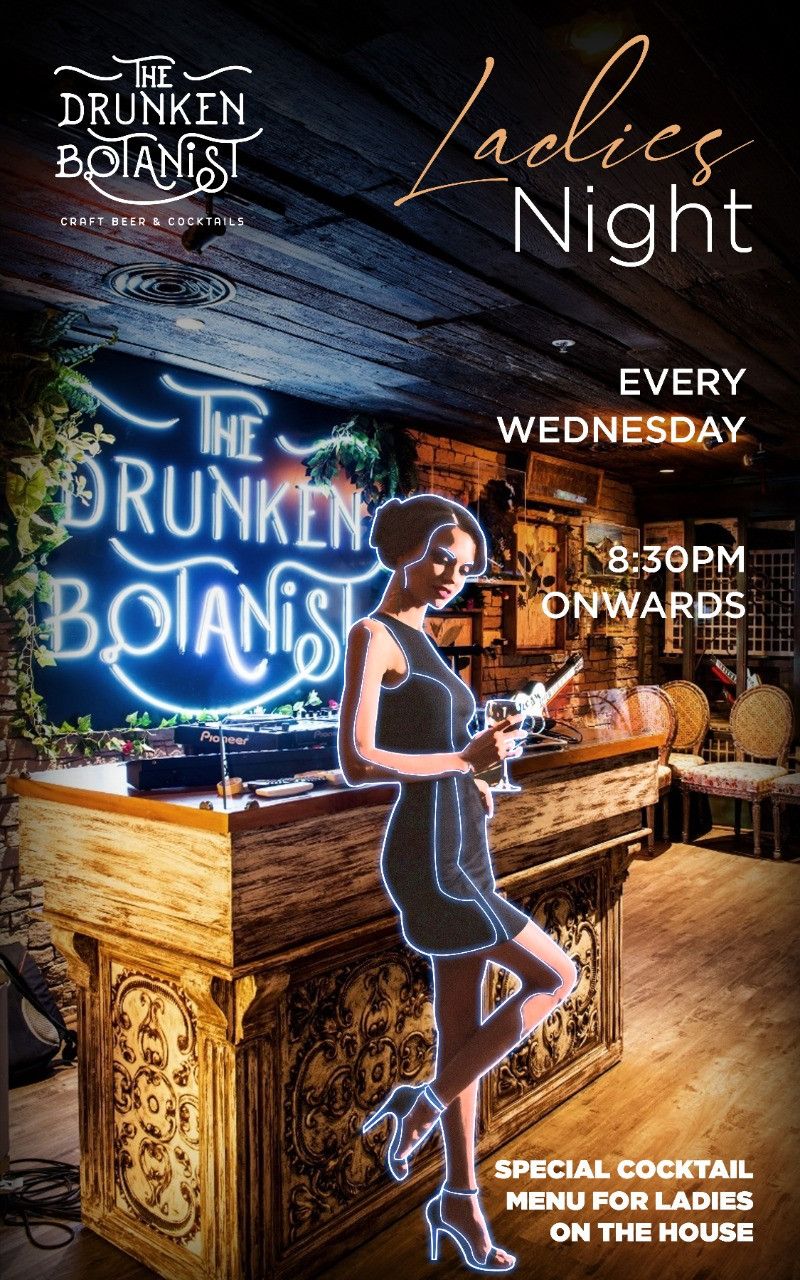 The Drunken Botanist Is Hosting Ladies Night With FREE Cocktails Every Wednesday!
