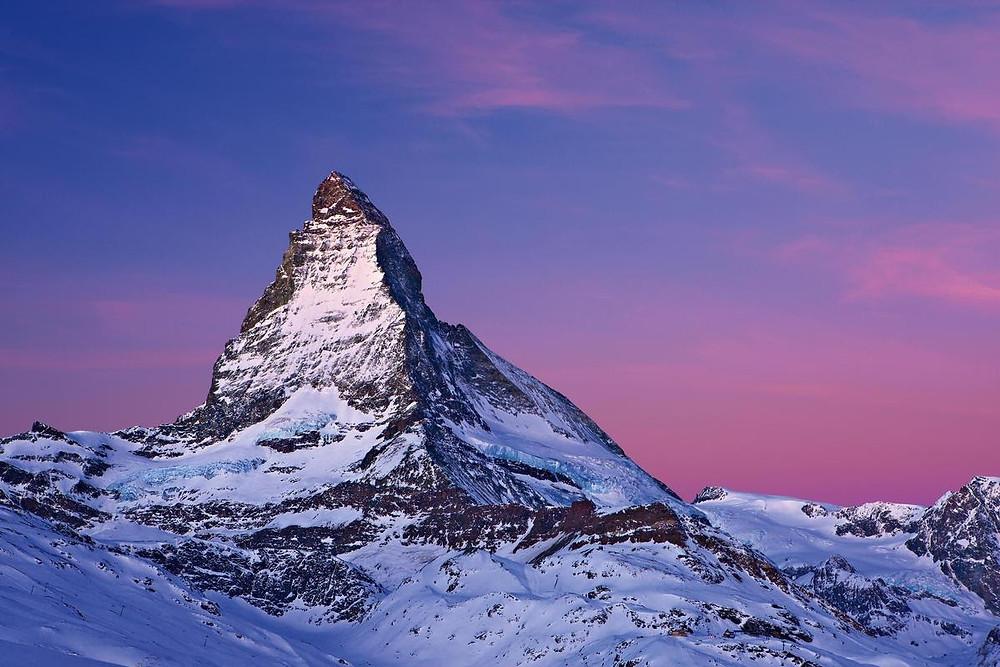 SWITZERLAND- HOME OF THE MOUNTAINS MATTERHORN