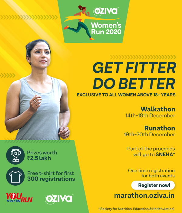 OZiva launches its inaugural fitness event - OZiva Women's Run