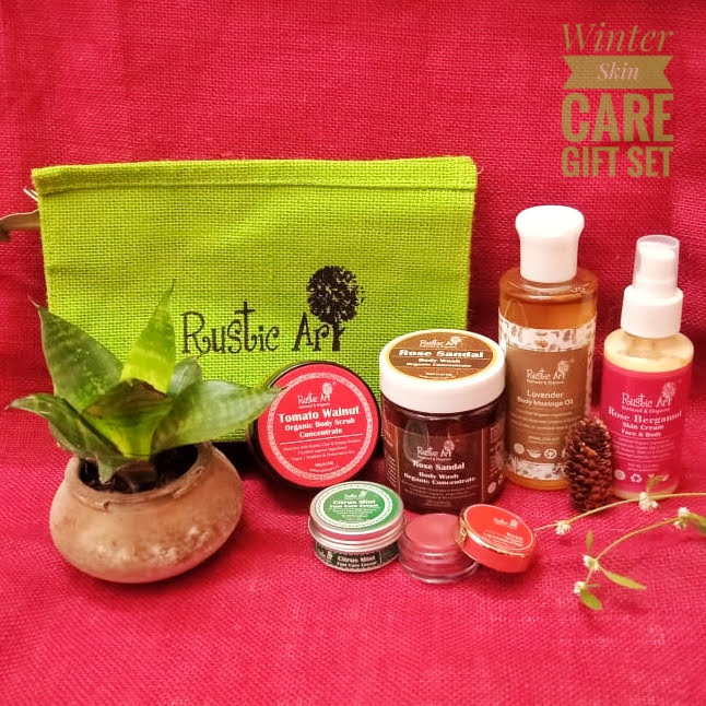 Rejoice with Rustic Art's Winter Gift Hampers this Holiday season!