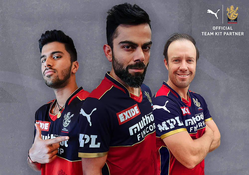 PUMA SIGNS MULTI-YEAR PARTNERSHIP DEAL WITH ROYAL CHALLENGERS BANGALORE