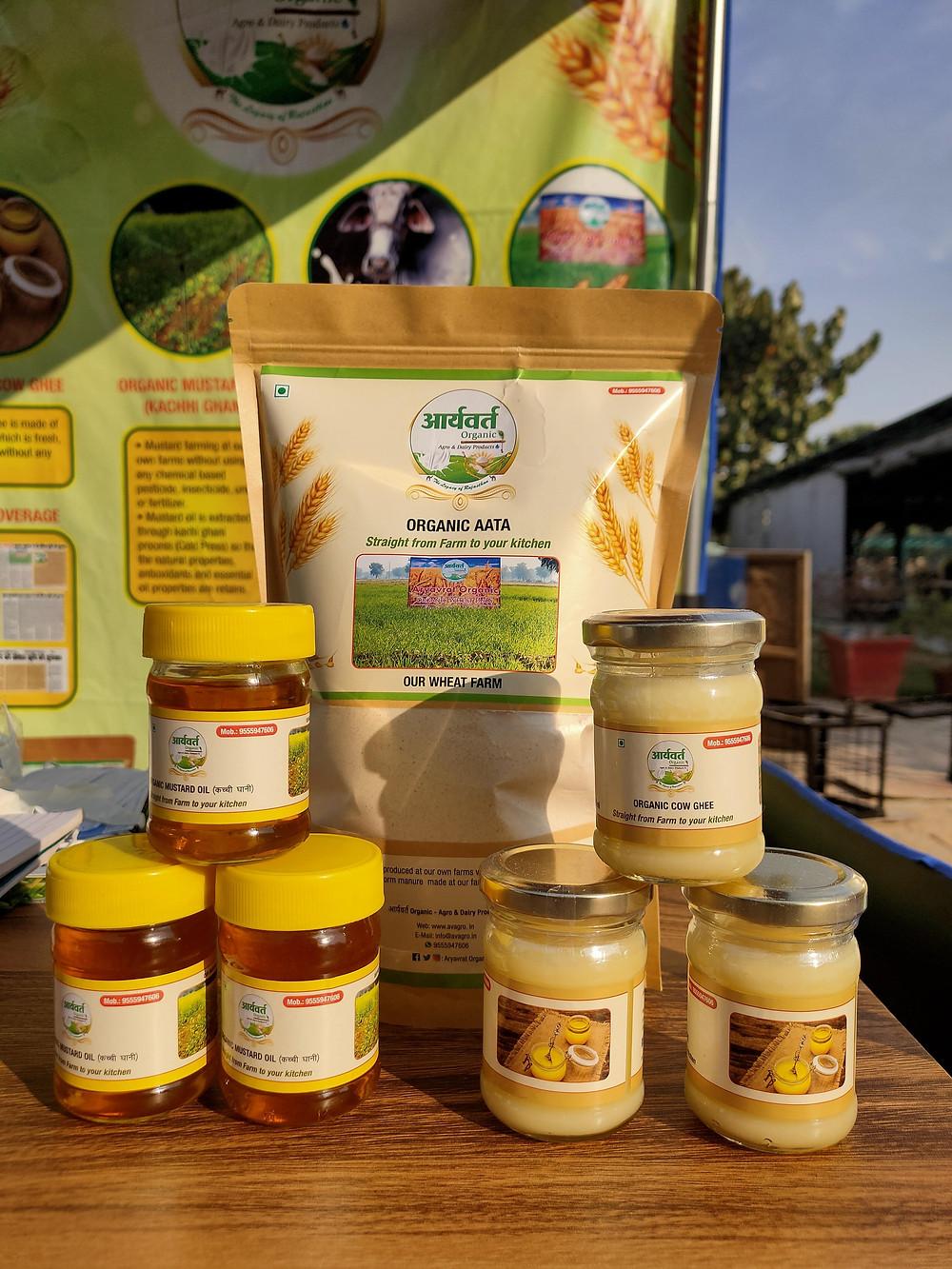 The Launch of New Organic Agro & Dairy Brand: Aryavrat Organic