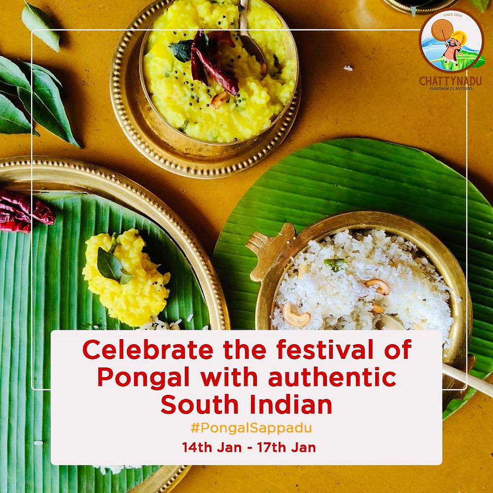 Get Ready to Devour Authentic South Indian Platter this Pongal!