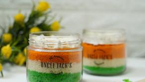 Uncle Jack's introduces tri-colour cake jars