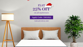 Livpure 2020 Christmas sale: Flat discounts on all Mattresses & Accessories