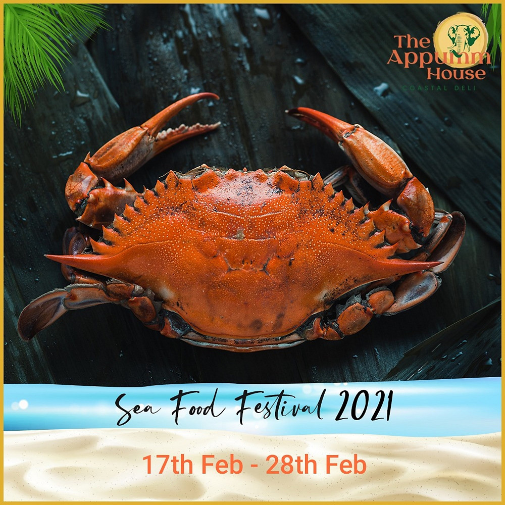 """The Appumm House Is Celebrating Their """"Sea Food Festival"""" and It's Raining Amazing Discounts"""